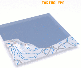 3d view of Tortuguero