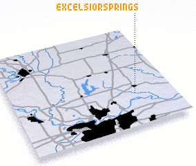 3d view of Excelsior Springs