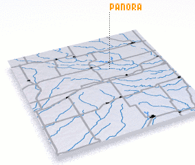 3d view of Panora