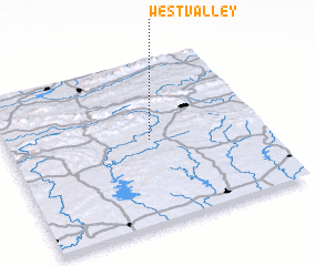 3d view of West Valley