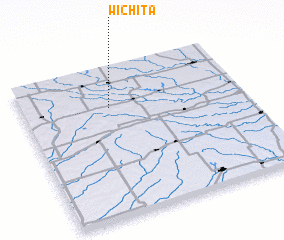3d view of Wichita