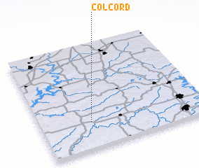 3d view of Colcord