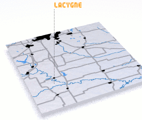3d view of La Cygne