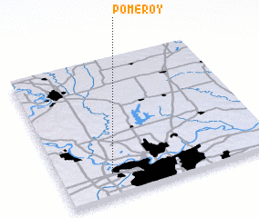 3d view of Pomeroy