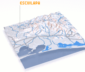 3d view of Escuilapa