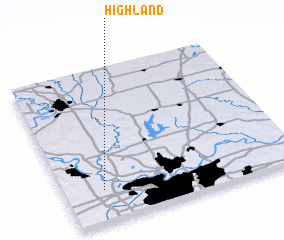 3d view of Highland