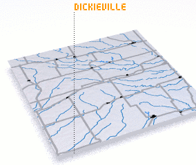 3d view of Dickieville