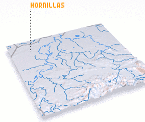 3d view of Hornillas