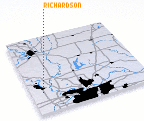 3d view of Richardson