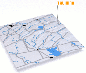 3d view of Talihina