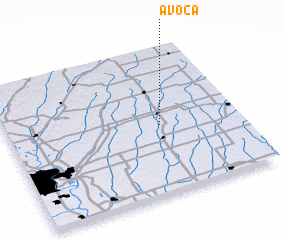 3d view of Avoca