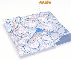 Jalapa Mexico map nonanet