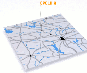 3d view of Opelika
