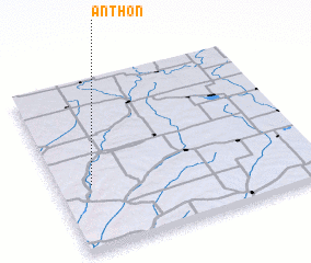 3d view of Anthon