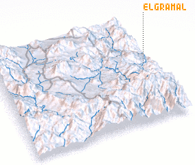 3d view of El Gramal