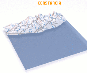 3d view of Constancia
