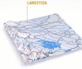 3d view of La Mestiza