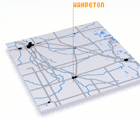 3d view of Wahpeton