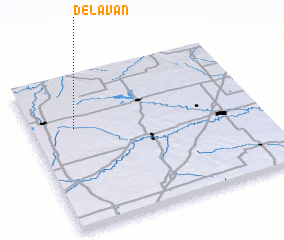 3d view of Delavan