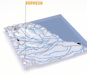 3d view of Represa