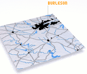 3d view of Burleson