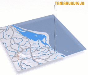 3d view of Tamiahua Vieja