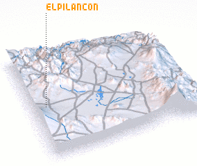 3d view of El Pilancón