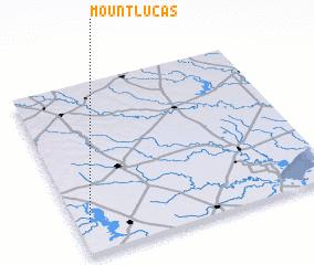 3d view of Mount Lucas