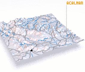 3d view of Acalmán