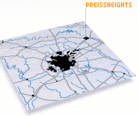 3d view of Preiss Heights