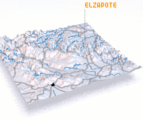 3d view of El Zapote
