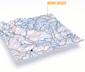 3d view of Huacango
