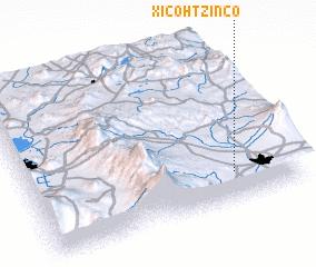 3d view of Xicohtzinco