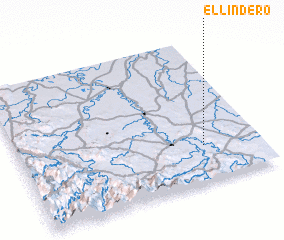 3d view of El Lindero