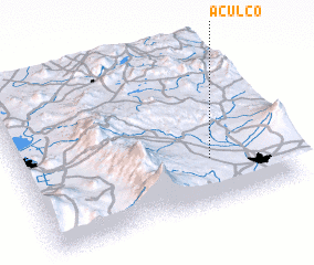 3d view of Aculco