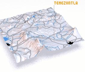 3d view of Temezontla