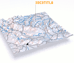 3d view of Xocotitla