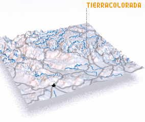 3d view of Tierra Colorada