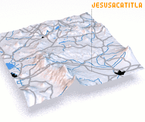 3d view of Jesús Acatitla