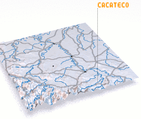 3d view of Cacateco