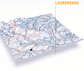 3d view of Los Remeros