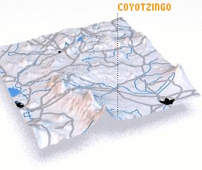 3d view of Coyotzingo