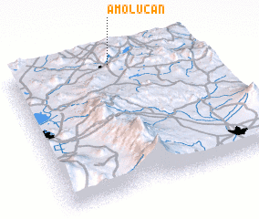 3d view of Amolucan