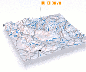 3d view of Huichoaya