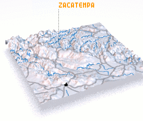 3d view of Zacatempa