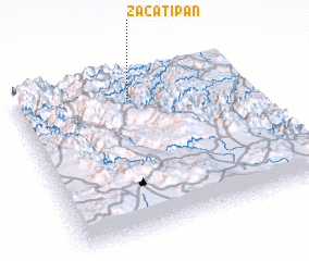 3d view of Zacatipan