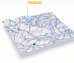 3d view of Texacal