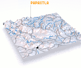 3d view of Papaxtla