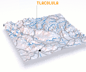 3d view of Tlacolula