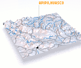 3d view of Apipilhuasco